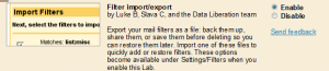 gmail filters import-export