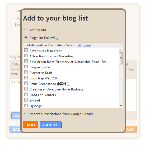 Blogger bloglist follow