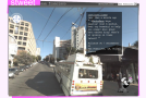 Stweet: Streetview + Twitter = Augmented Reality?
