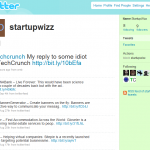 Techcrunch startupwizz twitter