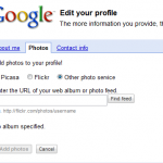 google profile import pictures
