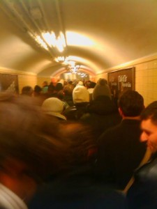 Reveillon metro paris