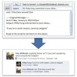 facebook email comments