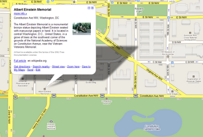 google maps monument