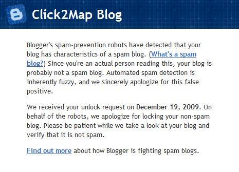 click2map google spam blog
