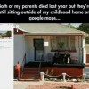 google maps parents morts passe