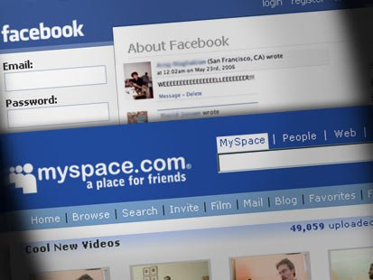 facebook myspace