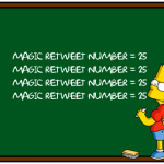 Twitter retweet simpsons