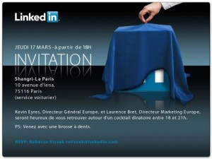 Linkedin france lancement