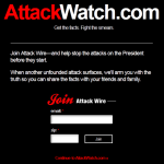 Attack watch